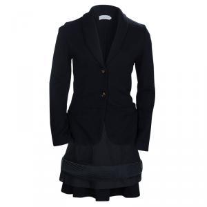 Dior Black Knit Skirt Suit 10 Yrs