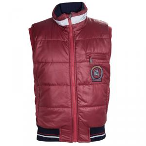 GF Ferré Red Quilted Vest 7/8 Yrs