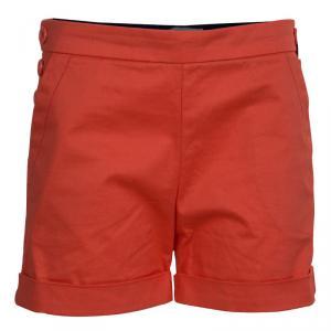 Little Marc Jacobs Orange Cotton Shorts 10 Yrs