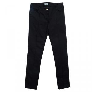 Moschino Teen Black Pintuck Detail Pants 14Yrs