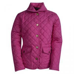 Ralph Lauren Kids Hot Pink Diamond Quilted Jacket 8-10 Yrs