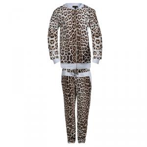 Roberto Cavalli Leopard Printed Tracksuit 10 Yrs