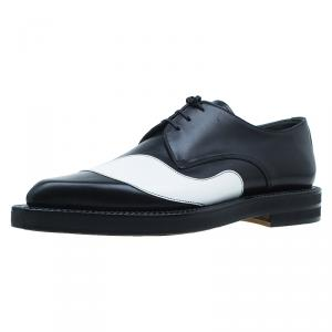 Alexander McQueen Black and White Derby Size 43