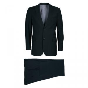 Boss By Hugo Boss Men's Dark Gray Suit M