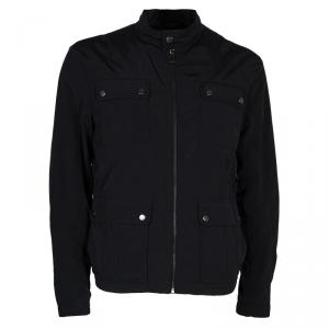Boss by Hugo Boss Men's Black Nylon Jacket L