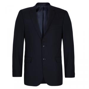 Boss by Hugo Boss Men's Black Striped Blazer M
