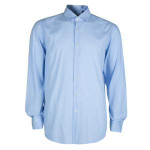 Boss by Hugo Boss Light Blue Long Sleeve Buttondown Shirt XL
