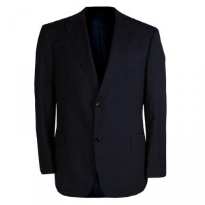 Boss By Hugo Boss Navy Blue Wool Blazer S