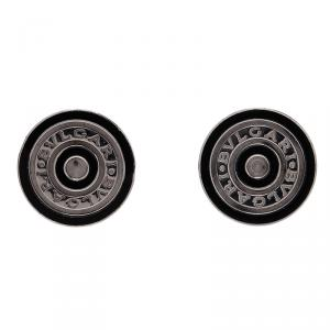 Bvlgari Silver Men's Cufflinks