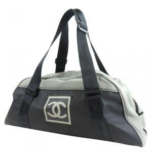 Chanel Bi Color Sport Nylon and Rubber Duffel Bag