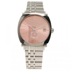 Chaumet Pink Stainless Steel Dandy Men's Wristwatch 35MM