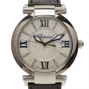 Chopard Silver Stainless Steel Imperiale Men's Wristwatch 40MM