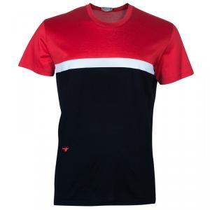 Dior Men's Colorblock Cotton T-Shirt XL