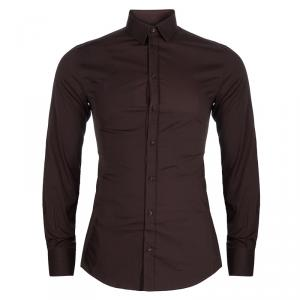Dolce & Gabbana Men's Brown Shirt S