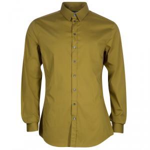 Dolce and Gabbana Mustard Shirt L