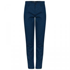 Dolce and Gabbana Mens Blue Polka Dot Jeans M