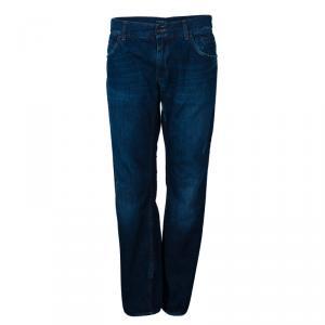 Dolce And Gabbana Men's Distressed Denim Jeans M