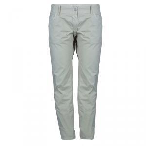Dolce and Gabbana Khaki Cotton Trousers L