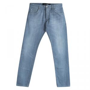 Dolce And Gabbana Light Blue Straight Fit Jeans S