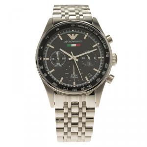 Emporio Armani Black Stainless Steel AR5984 Men's Wristwatch 36MM