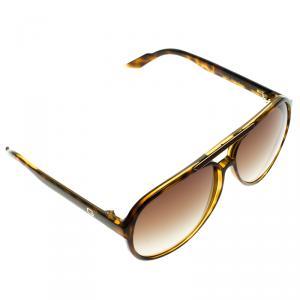 Gucci Havana GG 1627/S Aviator Sunglasses