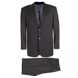 Guy Laroche Grey Wool Luigi Sturzo Suit L