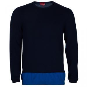 بلوفر هوغو باي هوغو بوس أزرق داكن للرجال XL