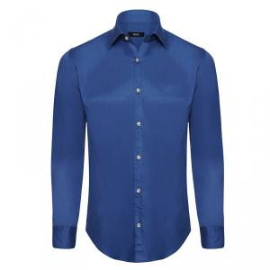 Boss by Hugo Boss Indigo Long Sleeve Shirt S
