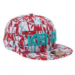 Kenzo Red X New Era Palm Printed Baseball Cap Size 7 3/4