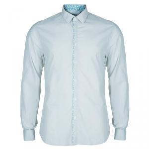 Kenzo Men's Light Blue Shirt L
