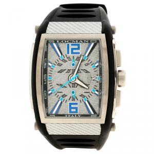 Locman Grey Tremilla N.L7520 Rubber Men's Wristwatch 41MM