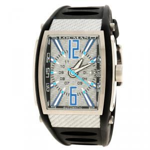 Locman Grey Tremila N.A1343 Rubber Men's Wristwatch 40MM
