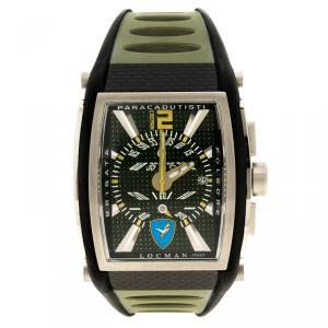 Locman Green Tremila N.0727 Rubber Men's Wristwatch 42MM