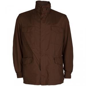 Loro Piana Brown Traveller Windmate Jacket M