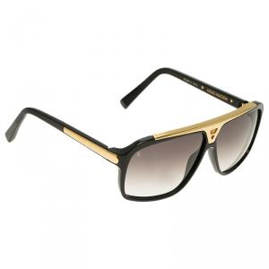 Louis Vuitton Black Evidence Square Sunglasses