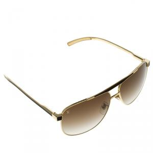Louis Vuitton Moka Z0658U Persuasion Square Sunglasses