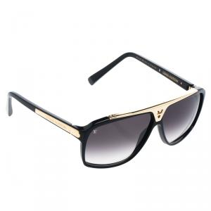 Louis Vuitton Black Z0350W Evidence Square Sunglasses