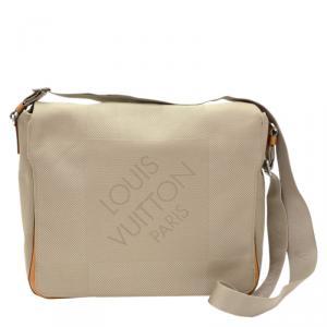 Louis Vuitton Brown Damier Geant Canvas Messenger Bag