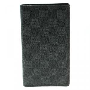 Louis Vuitton Damier Graphite Canvas Pocket Agenda Cover