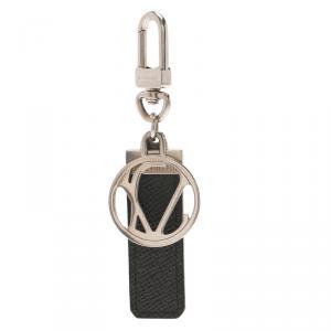Louis Vuitton Black Taiga Leather LV Club Bag Charm