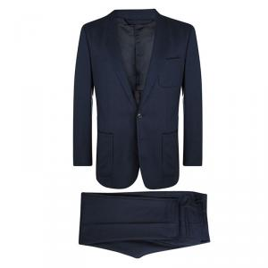 Maison Martin Margiela Navy Blue Wool Suit XXL