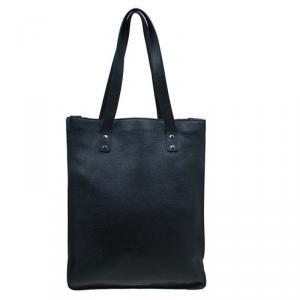 Marc By Marc Jacobs Black Leather Shopper Tote