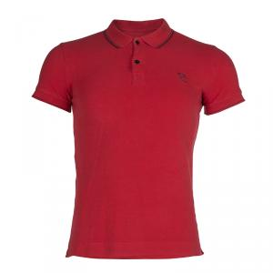 McQ By Alexander McQueen Red Polo T-Shirt S