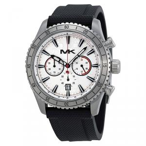 Michael Kors Silver Stainless Steel Richardson MK8353 Men's Wristwatch 45MM