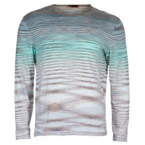 Missoni Crewneck Long Sleeve T-Shirt XXL