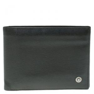 MontBlanc Black Leather Westside Wallet