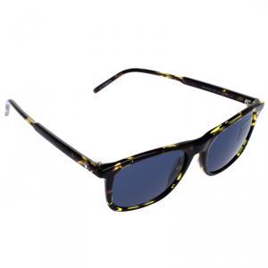 Montblanc Blue Havana MB593S Classic Sunglasses