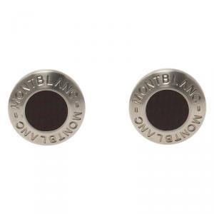 Montblanc Black Stainless Steel Heritage Men's Cufflinks