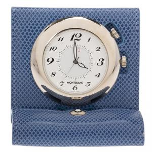Montblanc White Stainless Steel Classic Pocket Watch 45MM
