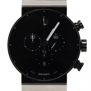 Movado Black PVD Stainless Steel 0606501 Men's Wristwatch 42MM